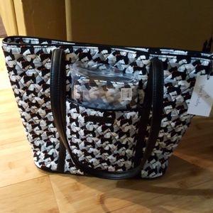Vera Bradley Scottie Dogs Bag and Wallet
